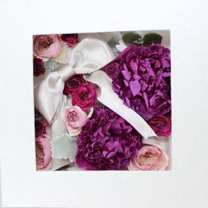 豪華な芍薬作品集 紫 バラ