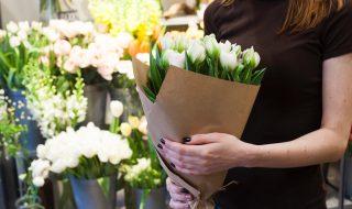 花屋に就職
